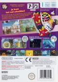 Wario Land: Shake It! Wii Back Cover