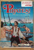 Sid Meier's Pirates! PC Booter Front Cover