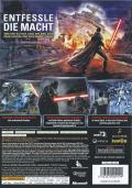 Star Wars: The Force Unleashed Xbox 360 Back Cover