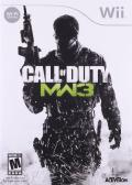 Call of Duty: MW3 Wii Front Cover