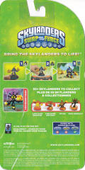 Skylanders: Swap Force - Smolderdash Nintendo 3DS Back Cover