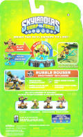 Skylanders: Swap Force - Rubble Rouser Nintendo 3DS Back Cover