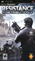 Resistance: Retribution PSP Front Cover