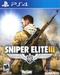 Sniper Elite III: Afrika PlayStation 4 Front Cover