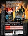 inFAMOUS 2 PlayStation 3 Back Cover