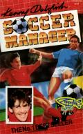 Kenny Dalglish Soccer Manager Commodore 64 Front Cover