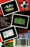 Kenny Dalglish Soccer Manager Commodore 64 Back Cover