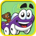 Putt-Putt Saves the Zoo iPad Front Cover Humongous Entertainment paid version