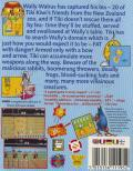 The New Zealand Story Commodore 64 Back Cover