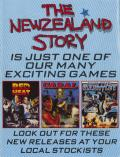 The New Zealand Story Commodore 64 Inside Cover