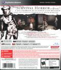 Silent Hill HD Collection PlayStation 3 Back Cover