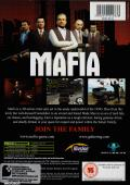 Mafia Xbox Back Cover