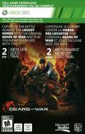 Gears of War: Judgment Xbox 360 Other DLC Code (Front) - Gears of War