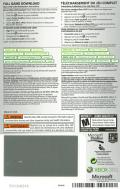 Gears of War: Judgment Xbox 360 Other DLC Code (Back) - Gears of War