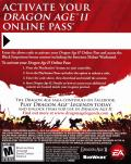 Dragon Age II PlayStation 3 Other DLC Code - Online Pass