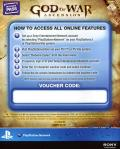 God of War: Ascension PlayStation 3 Other DLC Code - Online Features Access