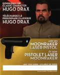 GoldenEye 007: Reloaded PlayStation 3 Other DLC Code - Front - Hugo Drax and Moonraker Laser Pistol