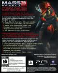 Mass Effect 3 PlayStation 3 Other DLC Code (Front) - Mass Effect 3: From Ashes