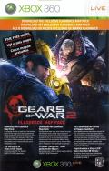Gears of War 2 (Limited Edition) Xbox 360 Other DLC Download Card - Front