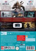 Assassin's Creed III Wii U Back Cover
