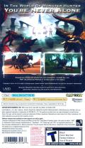 Monster Hunter Freedom Unite PSP Back Cover