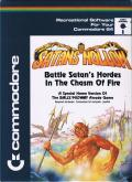 Satan's Hollow Commodore 64 Front Cover
