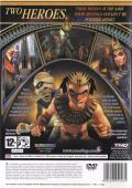 Sphinx and the Cursed Mummy PlayStation 2 Back Cover
