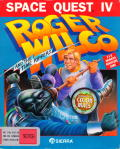 Space Quest IV: Roger Wilco and the Time Rippers Macintosh Front Cover