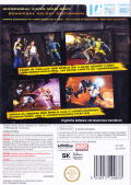 X-Men: Destiny Wii Back Cover
