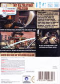 Red Steel 2 Wii Back Cover