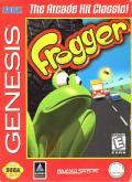 Frogger Genesis Front Cover