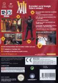XIII GameCube Back Cover