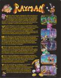 Rayman DOS Back Cover