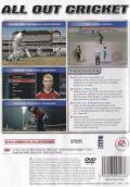 Cricket 2005 PlayStation 2 Back Cover