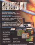 Perfect General II DOS Back Cover