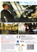 007: Quantum of Solace Wii Back Cover