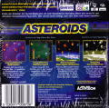 Asteroids Game Boy Color Back Cover
