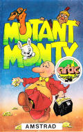 Mutant Monty Amstrad CPC Front Cover