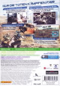 Tom Clancy's Ghost Recon: Future Soldier Xbox 360 Back Cover