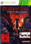 Resident Evil: Operation Raccoon City Xbox 360 Front Cover