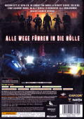 Resident Evil: Operation Raccoon City Xbox 360 Back Cover
