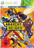 Anarchy Reigns (Limited Edition) Xbox 360 Front Cover