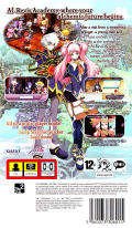 Mana Khemia: Alchemists of Al-Revis PSP Back Cover