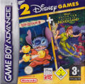 2 Disney Games: Disney's Lilo & Stitch 2 + Disney's Peter Pan: Return to Never Land Game Boy Advance Front Cover