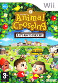 Animal Crossing: City Folk Wii Front Cover