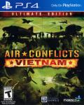 Air Conflicts: Vietnam - Ultimate Edition PlayStation 4 Front Cover