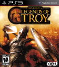 Warriors: Legends of Troy PlayStation 3 Front Cover