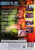 Dead or Alive 2 PlayStation 2 Back Cover