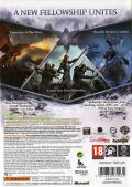 The Lord of the Rings: War in the North Xbox 360 Back Cover