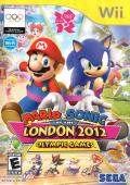 Mario & Sonic at the London 2012 Olympic Games Wii Front Cover